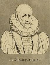 'J. Gerarde', (c1545-1612), 1830. Creator: Unknown.