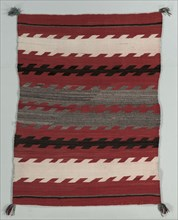 Banded Rug, c. 1890-1900. Creator: Unknown.