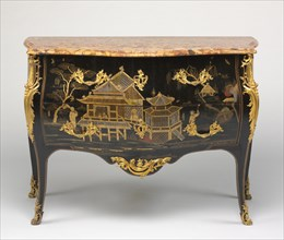 Chest of Drawers (Commode), c. 1750- 1765. Creator: Adrien Faizelot Delorme (French), probably by.