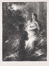 Duo des Troyens, 1894-1895. Creator: Henri Fantin-Latour (French, 1836-1904).