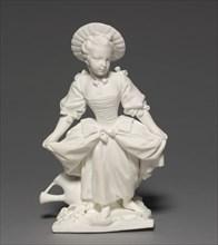 Figure of the Dancer (La Danseuse), 1748-1752. Creator: Vincennes Factory (French); Pierre Blondeau (French); François Boucher (French, 1703-1770), after a design by.