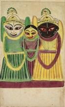 Jagannatha Trio, 1800s. Creator: Unknown.