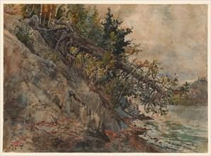 Lake Memphremagog, c. 1880s. Creator: Harry Fenn (American, 1838/45-1911).