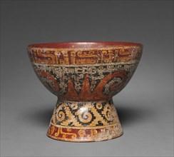 Pedestal Bowl, c. 900-1519. Creator: Unknown.