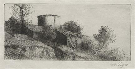 Pigeon Tower. Creator: Alphonse Legros (French, 1837-1911).