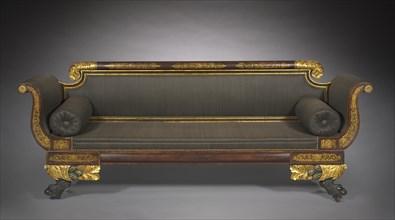 Sofa, c. 1820. Creator: Unknown.