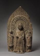 Stele with Sakyamuni and Bodhisattvas, 537. Creator: Unknown.