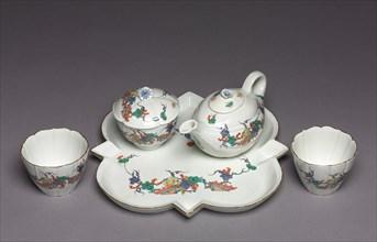 Tea Service (Déjeuner), c. 1730. Creator: Chantilly Porcelain Factory (French).
