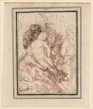 The Entombment, ca. 1596. Creator: Giovanni de' Vecchi (Italian, 1536-1615).