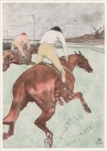 The Jockey, 1899. Creator: Henri de Toulouse-Lautrec (French, 1864-1901).