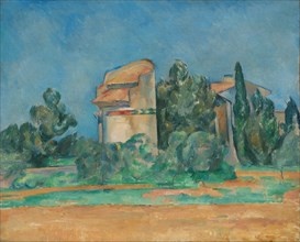 The Pigeon Tower at Bellevue, 1890. Creator: Paul Cézanne (French, 1839-1906).