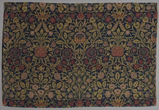 Violet and Columbine, 1883. Creator: William Morris (British, 1834-1896).