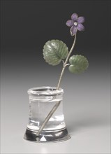 Violet, late 1800s - early 1900s. Creator: Peter Carl Fabergé (Russian, 1846-1920), firm of.