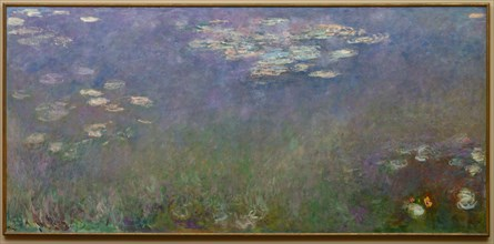 Water Lilies (Agapanthus), c. 1915-26. Creator: Claude Monet (French, 1840-1926).