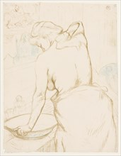 Elles: The Toilet, 1896. Creator: Henri de Toulouse-Lautrec (French, 1864-1901).