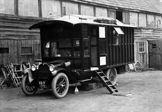 1930 Dodge camper van conversion by Hutchings. Creator: Unknown.