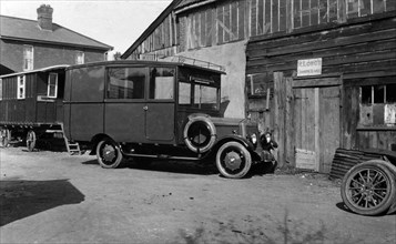 1922 Armstrong Siddeley 18hp camper conversion by Hutchings. Creator: Unknown.