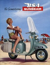 1964 BSA Sunbeam scooter brochure. Creator: Unknown.