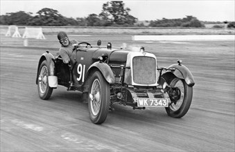 1928 Alvis 12-75 fwd at Silverstone. Creator: Unknown.