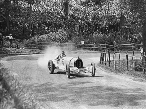 1930 Austro-Daimler, Hans von Stuck at Shelsley Walsh. Creator: Unknown.