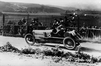 1922 Ballot, Targa Florio driven by Giulio Foresti. Creator: Unknown.