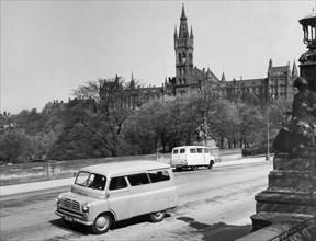 1958 Bedford CA 10-12cwt van. Creator: Unknown.