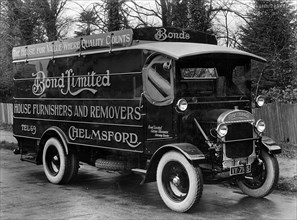 1928 Thonycroft removals lorry. Creator: Unknown.
