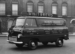 1958 Ford Thames 400e van. Creator: Unknown.