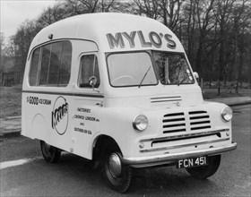 1956 Bedford CA ice cream van. Creator: Unknown.