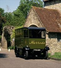 1939 Harrod's Electric delivery vehicle. Creator: Unknown.