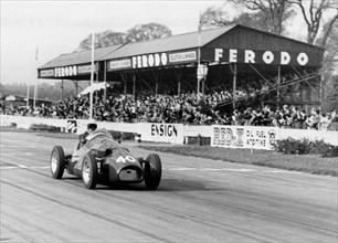 1954 Connaught, Ken McAlpine at Goodwood. Creator: Unknown.