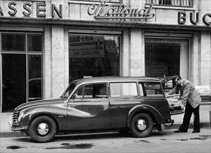 1954 DKW Universal estate car. Creator: Unknown.