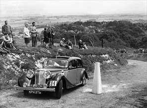 1946 Jaguar 1.5 litre on the 1954 Eastbourne Rally. Creator: Unknown.