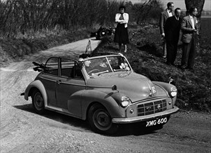 1952 Morris Minor Series II Convertible . Creator: Unknown.