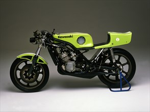 1975 Kawasaki factory racer. Creator: Unknown.