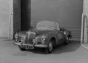 "1955 Daimler Conquest Roadster by Hooper used in Norman Wisdom film ""Up in the World"". Creator: Unknown."