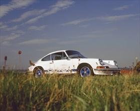 1973 Porsche 911 RS. Creator: Unknown.