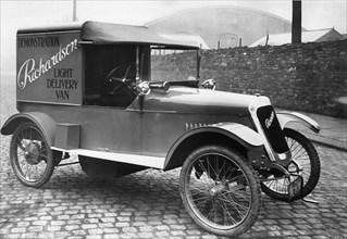 1921 Richardson light delivery van. Creator: Unknown.