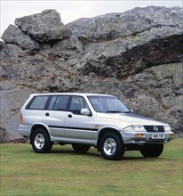 1996 Ssangyong Musso. Creator: Unknown.