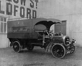 1910 Dennis Royal Mail van. Creator: Unknown.