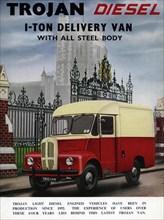 1957 Trojan diesel van brochure. Creator: Unknown.