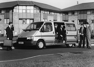 1991 Ford Transit V.I.P. minibus with Indiana conversion. Creator: Unknown.