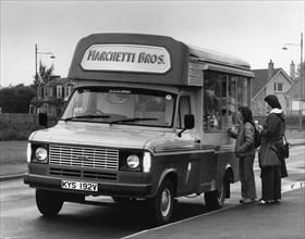 1979 Ford Transit ice-cream van. Creator: Unknown.