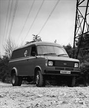 1983 Ford Transit 4x4. Creator: Unknown.