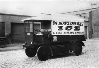 1924 Walker electric van. Creator: Unknown.
