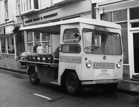1969 Smiths electric delivery van. Creator: Unknown.