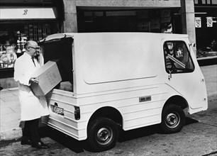 1970 Morrison Electricar delivery van. Creator: Unknown.