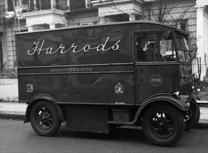1939 Harrod's electric van. Creator: Unknown.