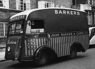 1939 Metrovick electric van. Creator: Unknown.