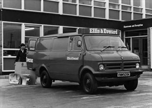 1972 Bedford CF van. Creator: Unknown.
